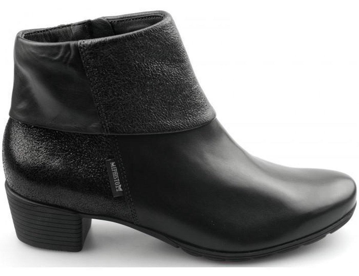 Mephisto Dames Enkellaarzen - Zwart - Maat 37 Laarzen