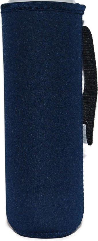 Koelhoud warmhoud hoes  voor de DOP fles - Navy - Flessen koelhoudhoes - KOOZIE