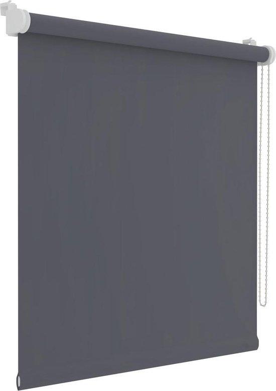 Decosol Rolgordijn Mini - Verduisterend - 72x250 cm - Antraciet