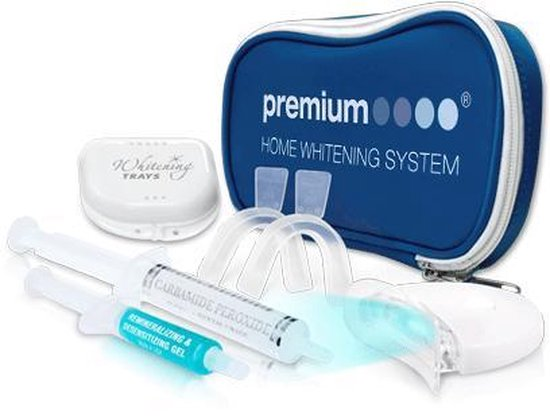 LED light Premium Home Whitening kit - Tandenbleekset - Thuis Tanden Bleken - Witte tanden - Voldoet aan EU regelgeving