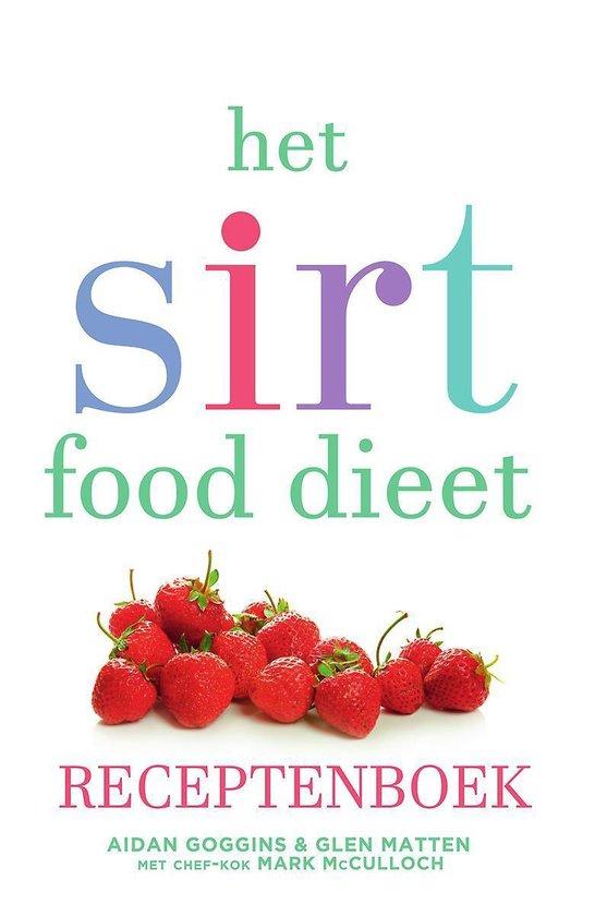 Het sirtfood dieet receptenboek
