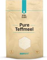 Body & Fit Superfoods Pure Teff meel - Glutenvrij & Volkoren - 500 gram