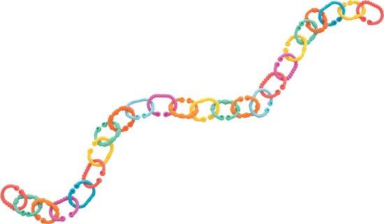 Playgro Babyspeelgoed Loopy Links geschakelde ringen