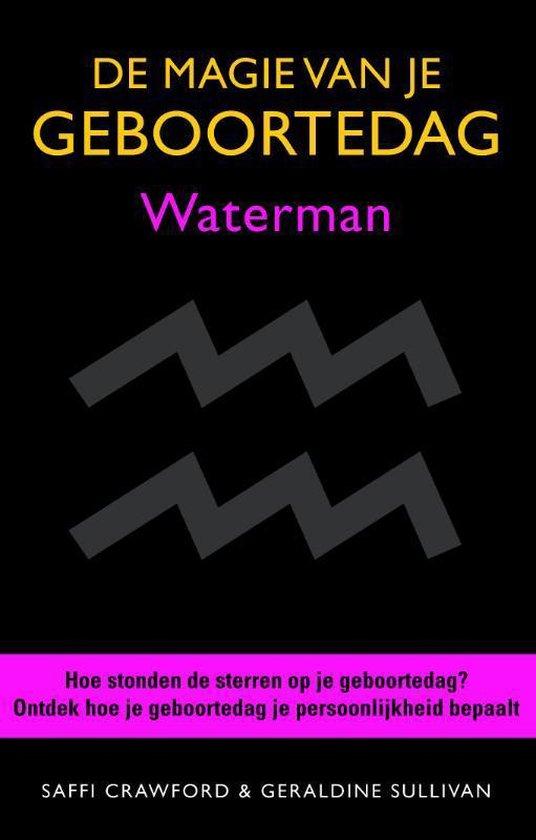 Boek cover De magie van je geboortedag  / Waterman van Saffi Crawford (Hardcover)