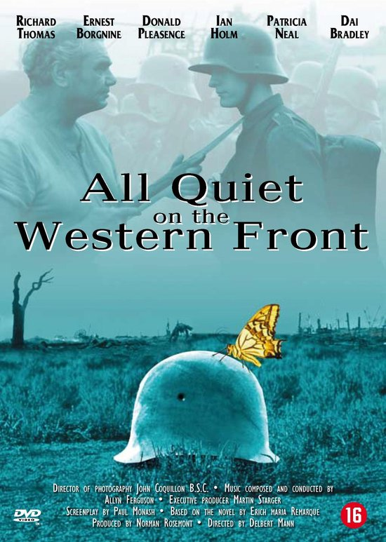 Cover van de film 'All Quiet On The Western Front'