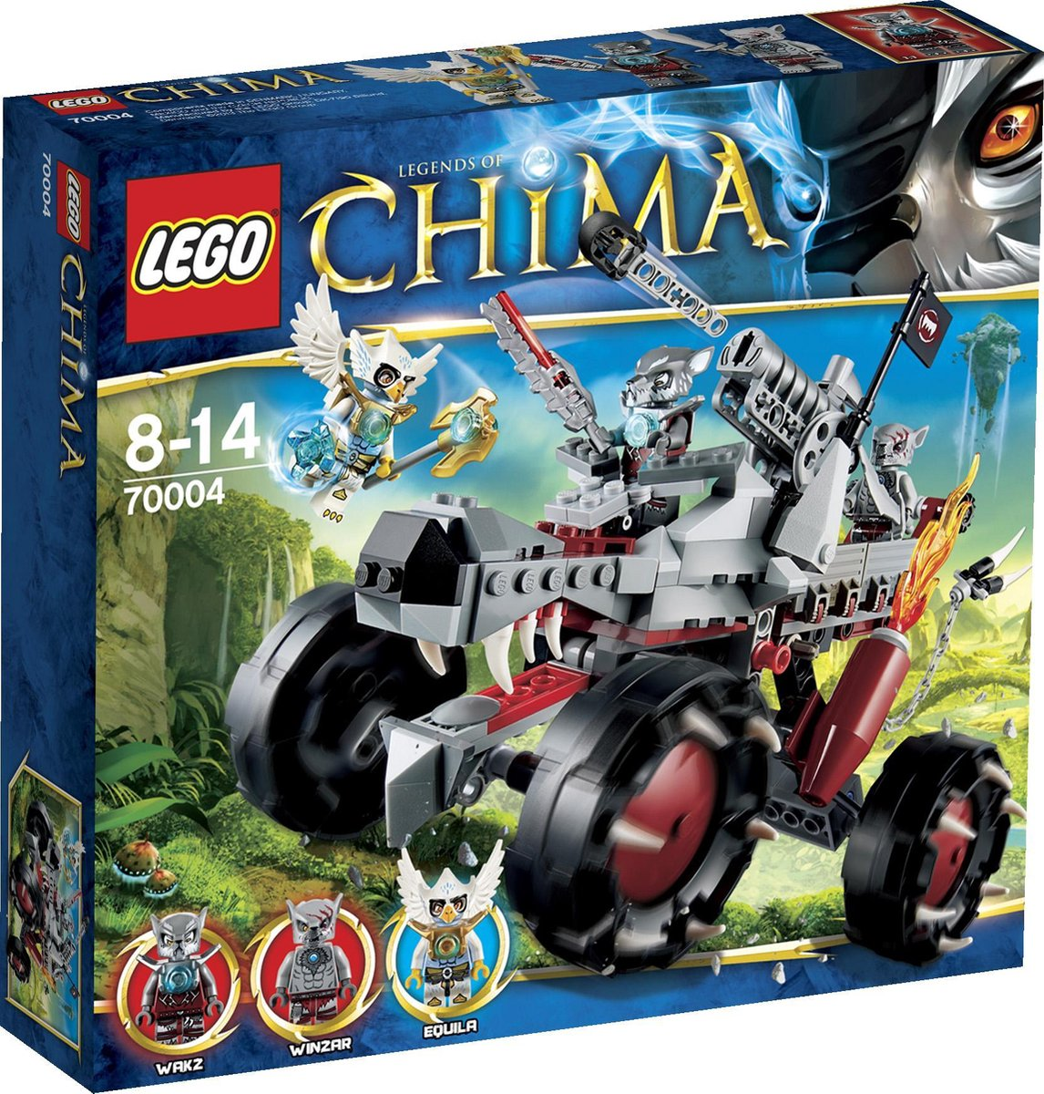 LEGO Chima Wakz