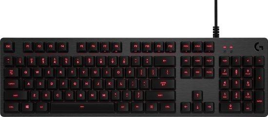 Logitech G413 - Mechanisch Gaming Toetsenbord - QWERTY US international / Zwart