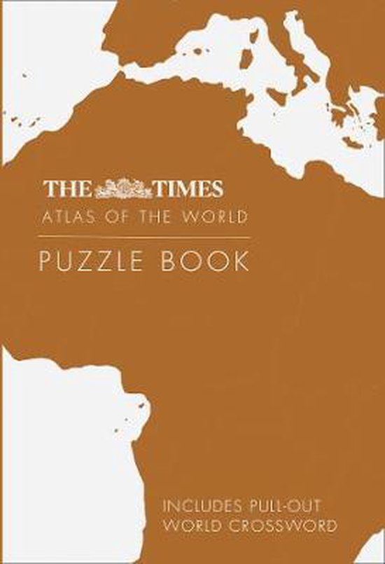Boek cover The Times World Atlas Puzzle Book van Gareth Moore (Paperback)
