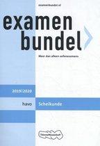 Boek cover Examenbundel havo Scheikunde 2019/2020 van J.R. van der Vecht