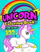 Unicorn coloring book for kids. 100 coloring pages