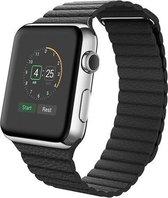 watchbands-shop.nl bandje - Apple Watch Series 1/2/3/4 (42&44mm) - Zwart