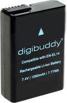 Digibuddy Camera-accu EN-EL14 voor Nikon