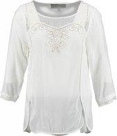 Garcia blouse shirt spring white 3/4 mouw Maat - M