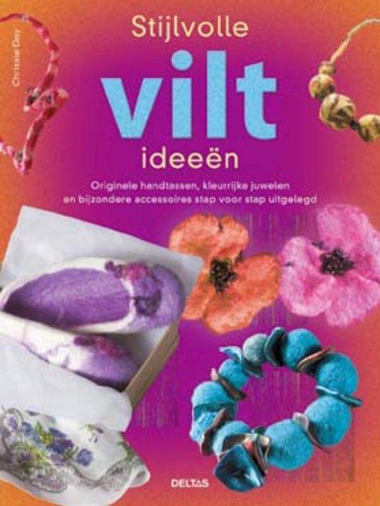 Cover van het boek 'Stijlvolle viltideeen'