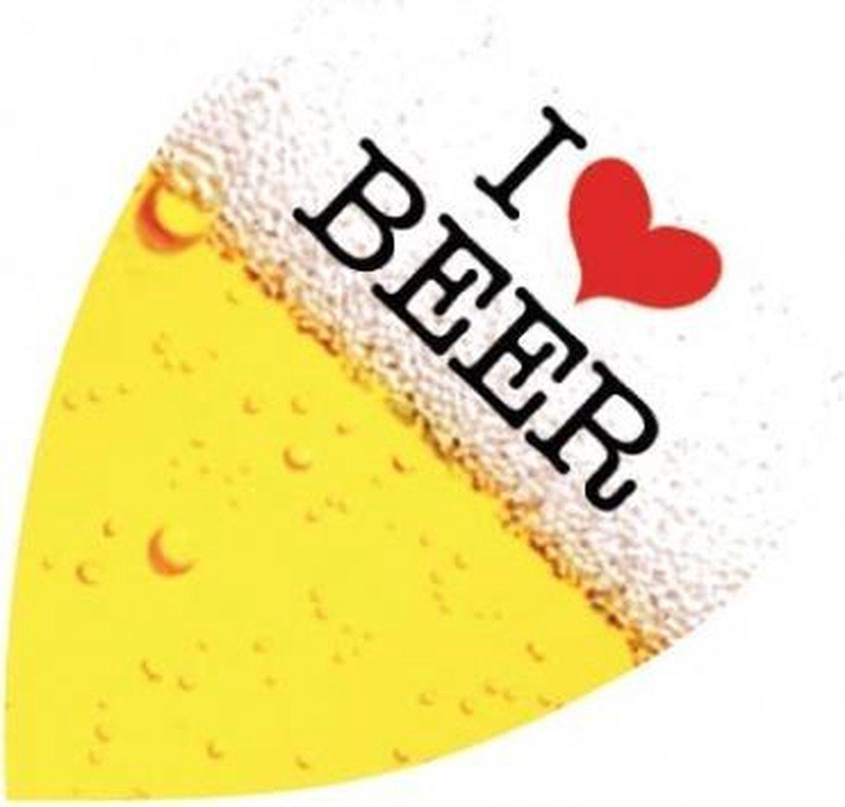 Harrows Quadro Flight I Love Beer