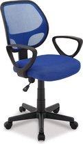 Bureaustoel Buritos - Verstelbaar en Ergonomisch - Blauw