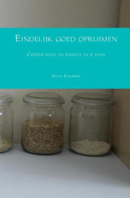 Eindelijk goed opruimen - Anita Kalsbeek   Fthsonline.com