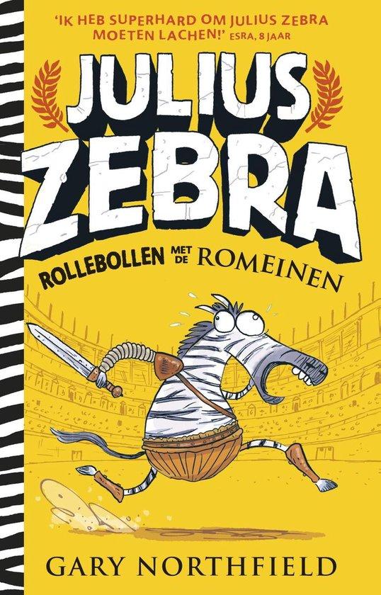 Julius Zebra 1 - Rollebollen met de Romeinen - Gary Northfield |