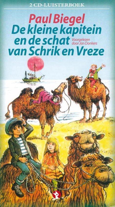 De Kleine Kapitein en de Schat van Schrik en Vreze - 2cd luisterboek - Paul Biegel   Readingchampions.org.uk