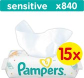 Pampers Sensitive Billendoekjes - 840 Stuks
