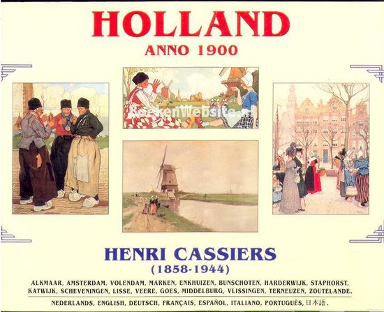 Holland anno 1900 8-talig - Cassiers |