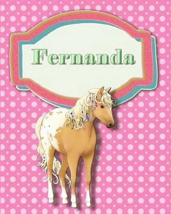 Handwriting and Illustration Story Paper 120 Pages Fernanda