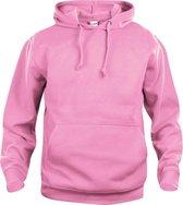 Clique Basic hoody Helder Roze maat L