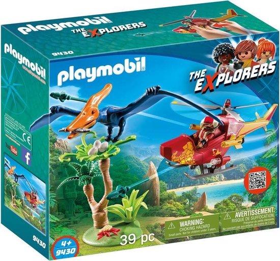 PLAYMOBIL Dinos Helikopter met Pteranodon - 9430