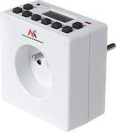 Programmeerbare digitale timer tijdschakelaar Schuko 3600W max 156 Maclean MCE30