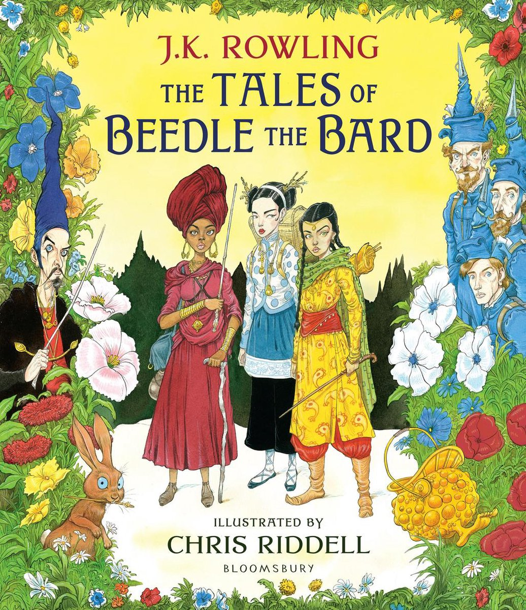 The Tales of Beedle the Bard - Illustrated Edition : A magical companion to the Harry Potter stories - J.K. Rowling