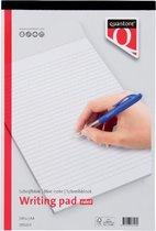 SCHRIJFBLOK QUANTORE BASIC A4 GELIJND 5 Stuks