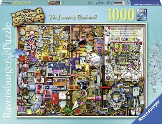 Ravensburger puzzel Colin Thompson The inventors cupboard - Legpuzzel - 1000 stukjes