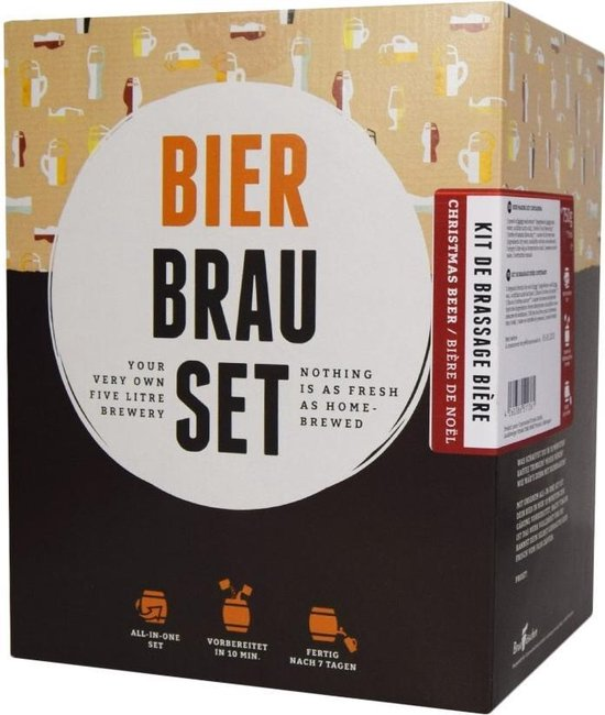 Brew Barrel Bier Brouw Pakket - Wheatbeer - Brew Barrel