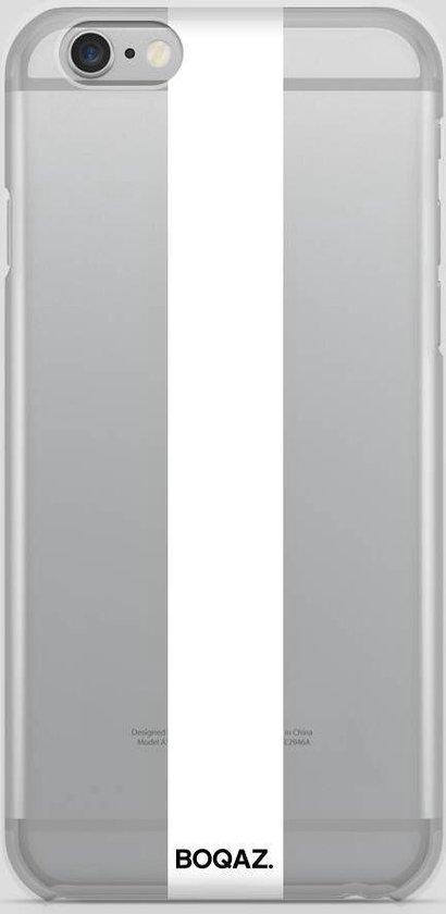 BOQAZ. iPhone 6 hoesje - striping wit