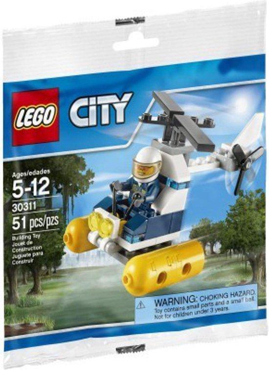 LEGO 30311 Moeraspolitie helicopter