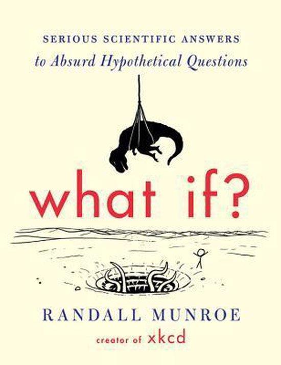 Boek cover What If? van Randall Munroe (Hardcover)