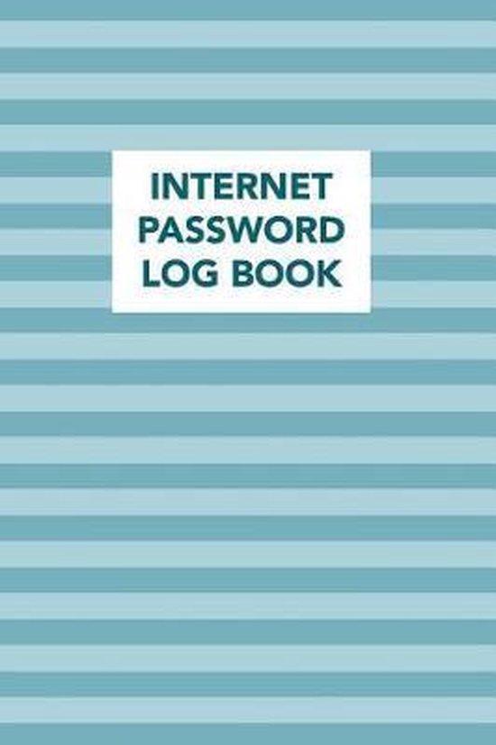 Internet Password Log Book