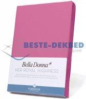 Bella Donna Hoeslaken  Jersey - 140x200-160x220 - flamingo