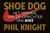 Boek cover Shoe Dog DL van Phil Knight