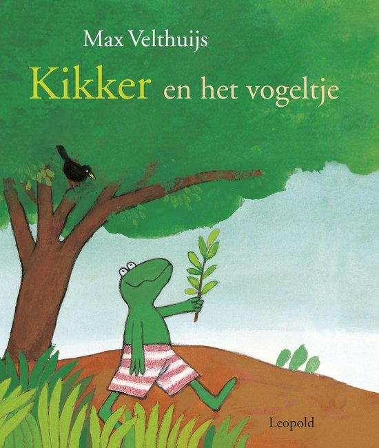 Boek cover Kikker en het vogeltje van Max Velthuijs (Onbekend)