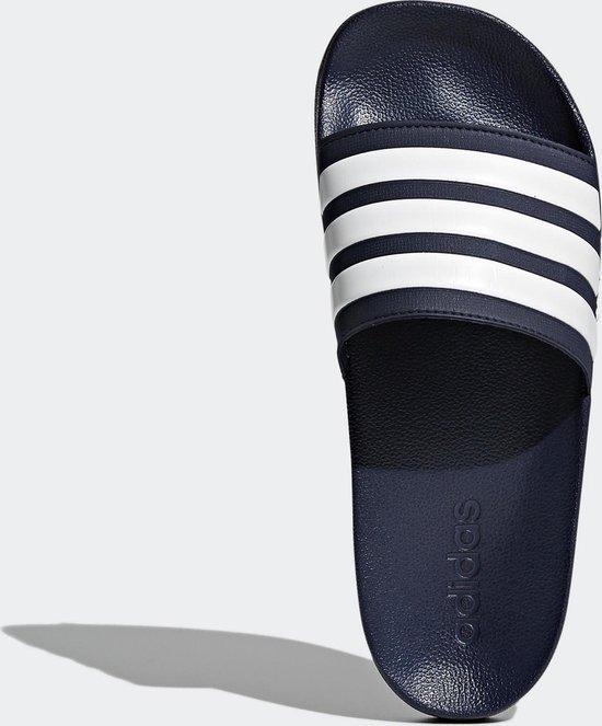 Adidas  Slippers Heren - Collegiate Navy/Cloud White/Collegiate Navy - Maat 44,5