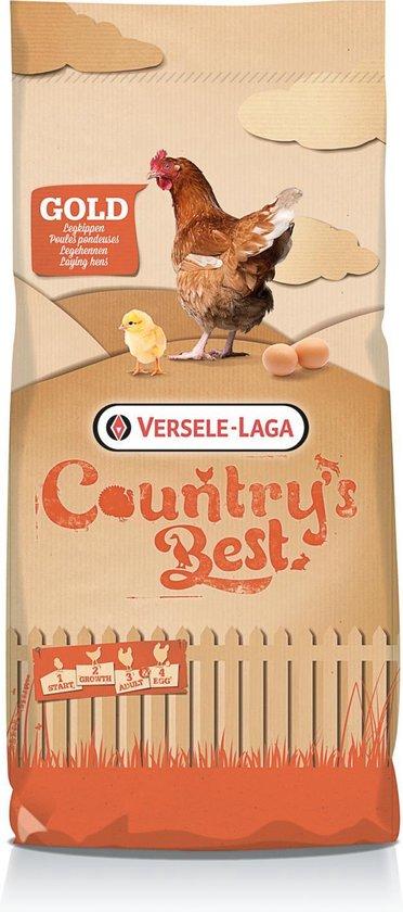 Versele-laga country's best gold 2 pellet-opgroeikorrel > 11 weken - Versele-Laga Country`s Best