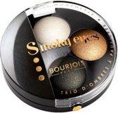 Bourjois Trio Smoky Eyes Oogschaduw - 10 Gold Smoking