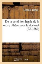 De la condition legale de la veuve