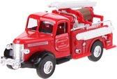 Nex Metalen brandweer: bluswagen 12 cm