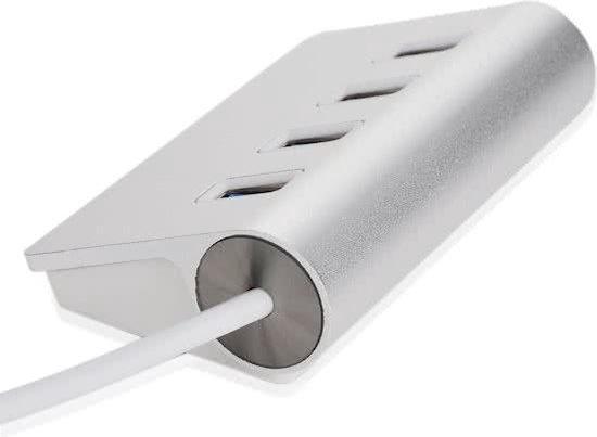 4 Ports Aluminium USB 3.0 High Speed Hub