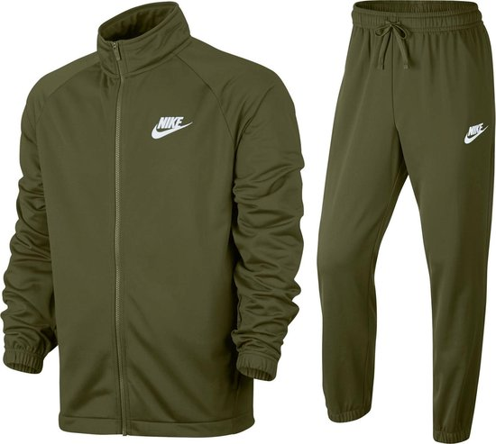 Nike Sportswear Trainingspak Heren Trainingspak - Maat XL - Mannen - groen