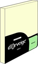 D'Orveige Laken Katoen - Litsjumeaux - 240x270 cm - Creme