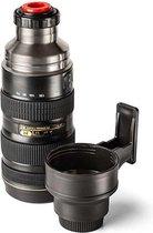 MikaMax Thermosfles Camera Lens 0,5L Isoleerfles
