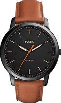 Fossil Zwart Mannen Horloge FS5305